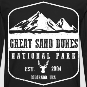 Great Sand Dunes T-Shirts - Men's Premium Long Sleeve T-Shirt