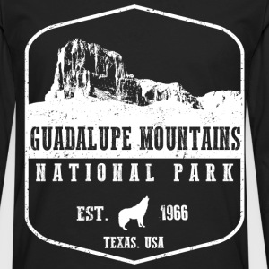 Guadalupe Mountains T-Shirts - Men's Premium Long Sleeve T-Shirt