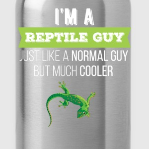Reptiles - I'm a reptile guy. Just like a normal g - Water Bottle