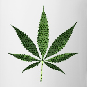 cannabis leaf mosaic - Coffee/Tea Mug