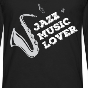 Jazz - Jazz music lover - Men's Premium Long Sleeve T-Shirt