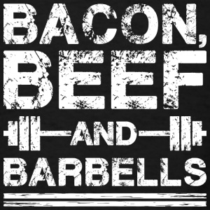 Bacon, Beef, And Barbells Bags & backpacks - Men's T-Shirt