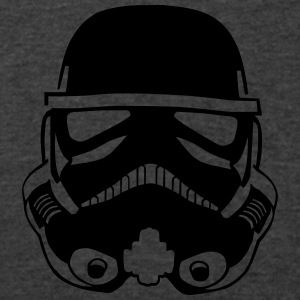 Stormtrooper Helmet CINCH BAG - Men's V-Neck T-Shirt by Canvas