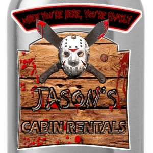 Jason's cabin rentals - Water Bottle