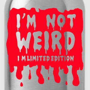i'm not weird i'm limited T-Shirts - Water Bottle
