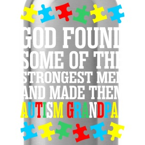 God Found Some Of The Strongest Men And Made Them  T-Shirts - Water Bottle