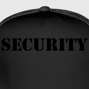 security T-Shirts - Trucker Cap