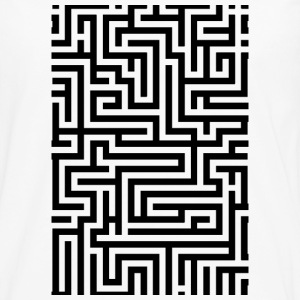 Labyrinth iPad case Phone & Tablet Cases - Men's Premium Long Sleeve T-Shirt