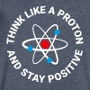 Think like a proton T-Shirts - Men's V-Neck T-Shirt by Canvas