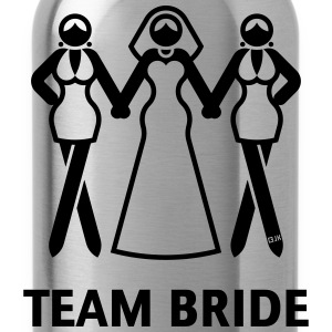 Team Bride (Hen Night, Bachelorette Party) Tanks - Water Bottle