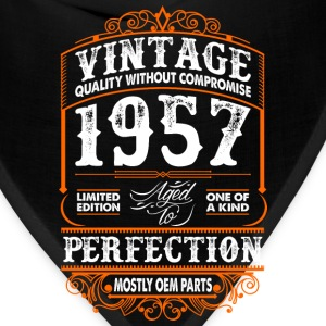 Vintage 1957 Perfection Mostly OEM Parts T-Shirts - Bandana