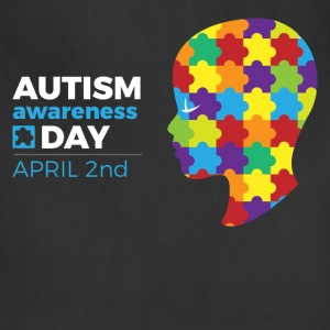 Autism Awareness Day T-Shirts - Adjustable Apron