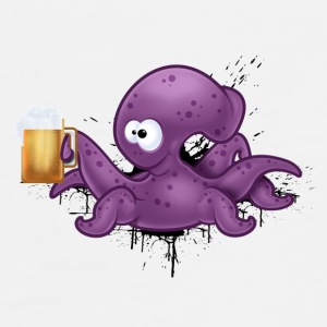 Cheers Octopus - Men's Premium T-Shirt