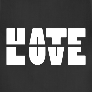 Hate Love T-Shirts - Adjustable Apron