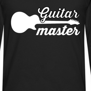 Guitarist - Guitar master - Men's Premium Long Sleeve T-Shirt
