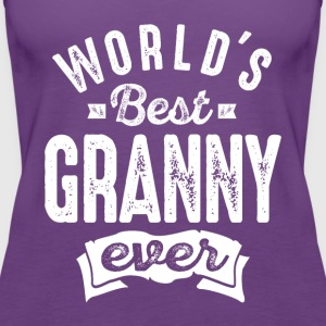World's Best Granny Ever - Women's Premium Tank Top