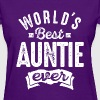 World's Best Auntie Ever - Women's T-Shirt