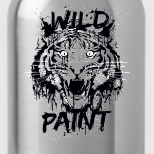 Wild paints painting - Water Bottle