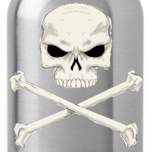 Jolly roger painting - Water Bottle