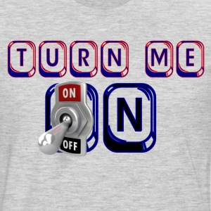 turn me on - Men's Premium Long Sleeve T-Shirt