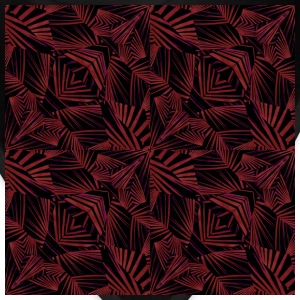 Sharp tribal pattern - Bandana