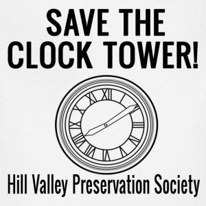 Save The Clock Tower! T-Shirts - Adjustable Apron