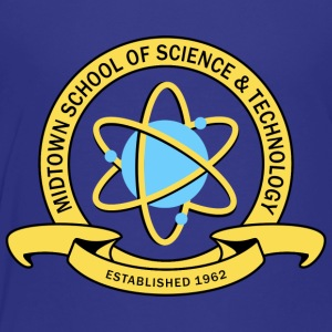 MIDTOWN SCHOOL SCIENCE & TECHNOLOGY Kids' Shirts - Toddler Premium T-Shirt