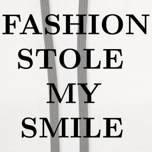 Fashion stole my smile T-Shirts - Contrast Hoodie