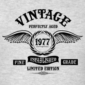 Vintage Perfectly Aged 1977 Long Sleeve Shirts - Men's T-Shirt