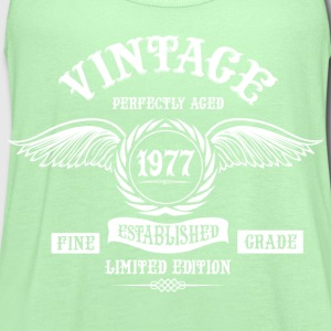 Vintage Perfectly Aged 1977 T-Shirts - Women's Flowy Tank Top by Bella