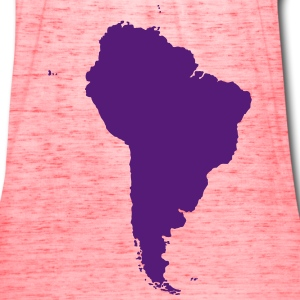 Map of South America - Women's Flowy Tank Top by Bella