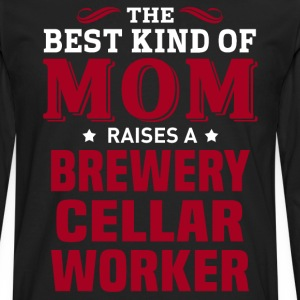 Brewery Cellar Worker MOM - Men's Premium Long Sleeve T-Shirt