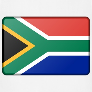 South Africa flag (bevelled) - Adjustable Apron