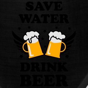 Save Water Drink Beer Design men's Party T-Shirt - Bandana