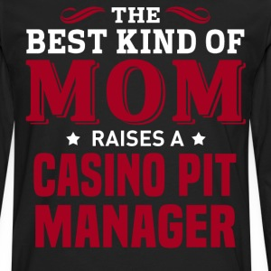 Casino Pit Manager MOM - Men's Premium Long Sleeve T-Shirt