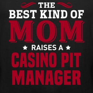 Casino Pit Manager MOM - Men's Premium Tank