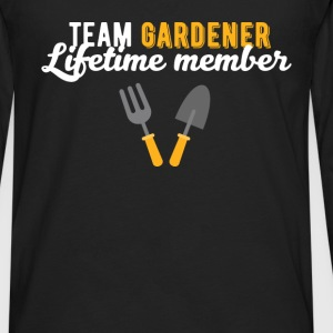 Gardener - Team gardener Lifetime member - Men's Premium Long Sleeve T-Shirt