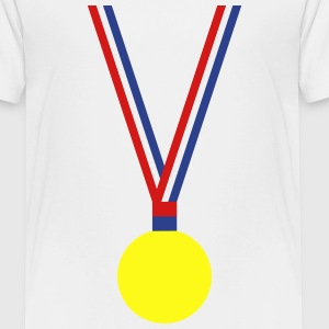 Gold,Silver,Bronze Medal - Toddler Premium T-Shirt