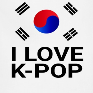 I Love K-Pop T-Shirts - Adjustable Apron