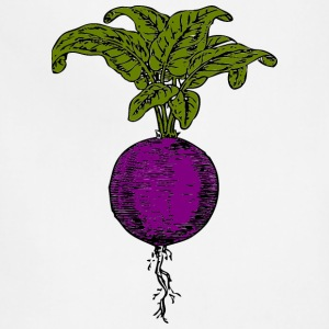 Purple beet - Adjustable Apron