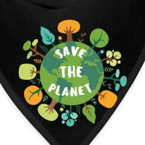 Planet - Save the Planet - Bandana