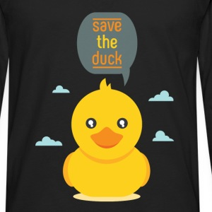 Duck - Save the duck - Men's Premium Long Sleeve T-Shirt