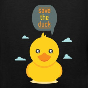 Duck - Save the duck - Men's Premium Tank