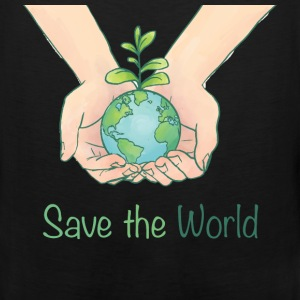 World - Save the world - Men's Premium Tank