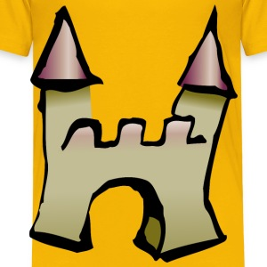 castle icon - Toddler Premium T-Shirt