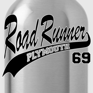 69 Road Runner - White Outline - Water Bottle