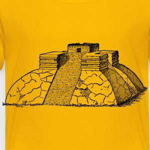 Ancient Mexican pyramid 2 - Toddler Premium T-Shirt
