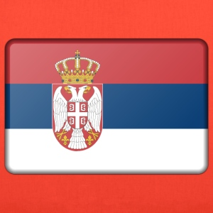 Serbia flag (bevelled) - Tote Bag
