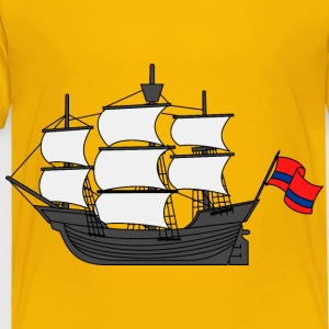 Sailing ship 12 - Toddler Premium T-Shirt