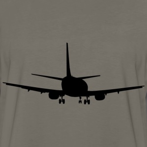Aeroplane silhouette - Men's Premium Long Sleeve T-Shirt